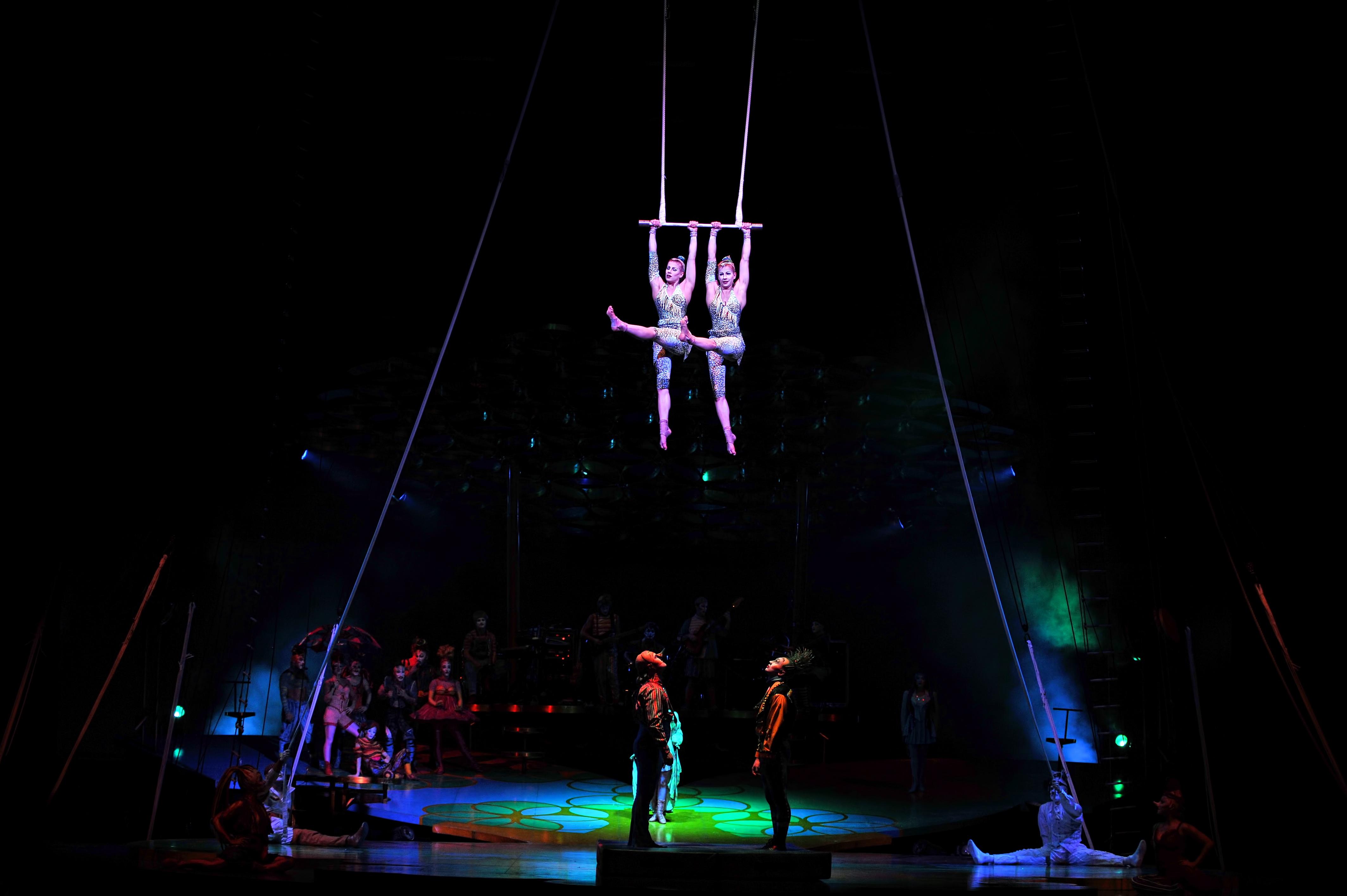 Welttournee mit der Cirque du Soleil Show Saltimbanco